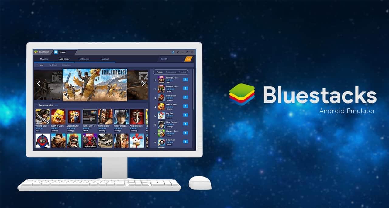 Иллюстрация на тему Где скачать бесплатно эмулятор ОС Андроид bluestacks 2 для Windows 7