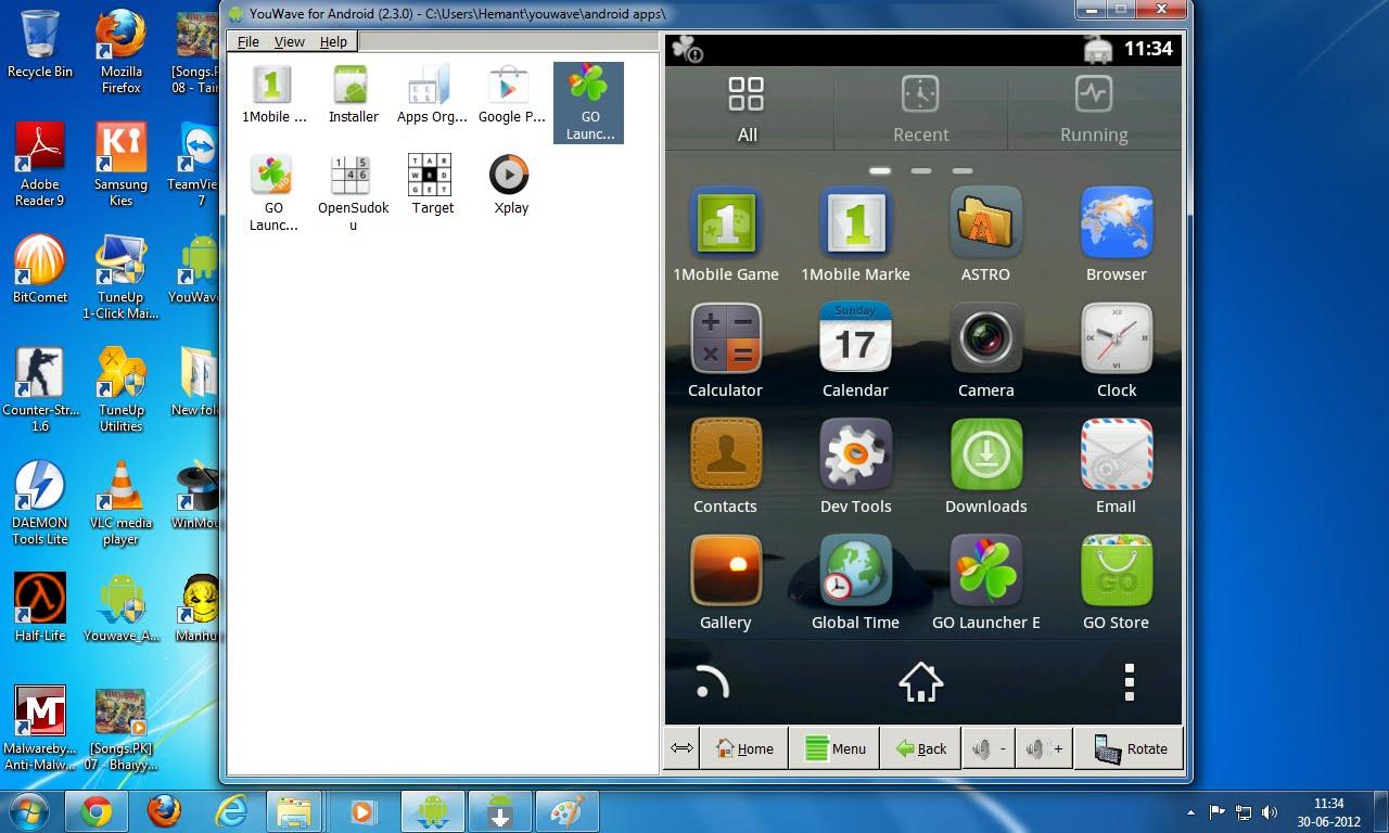 Иконка Эмулятор YouWave для ПК Windows