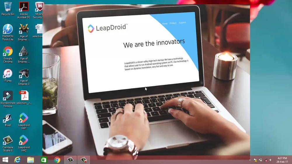 Иллюстрация на тему Эмулятор ОС Андроид LeapDroid: возможности программы и её установка