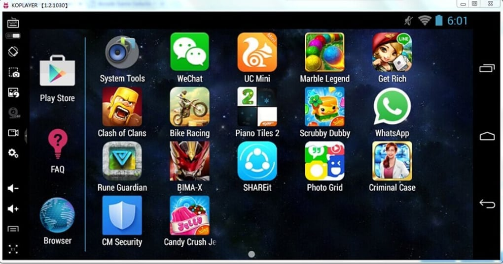 Иллюстрация на тему Что такое KoPlayer - описание эмулятора Андроид для Windows