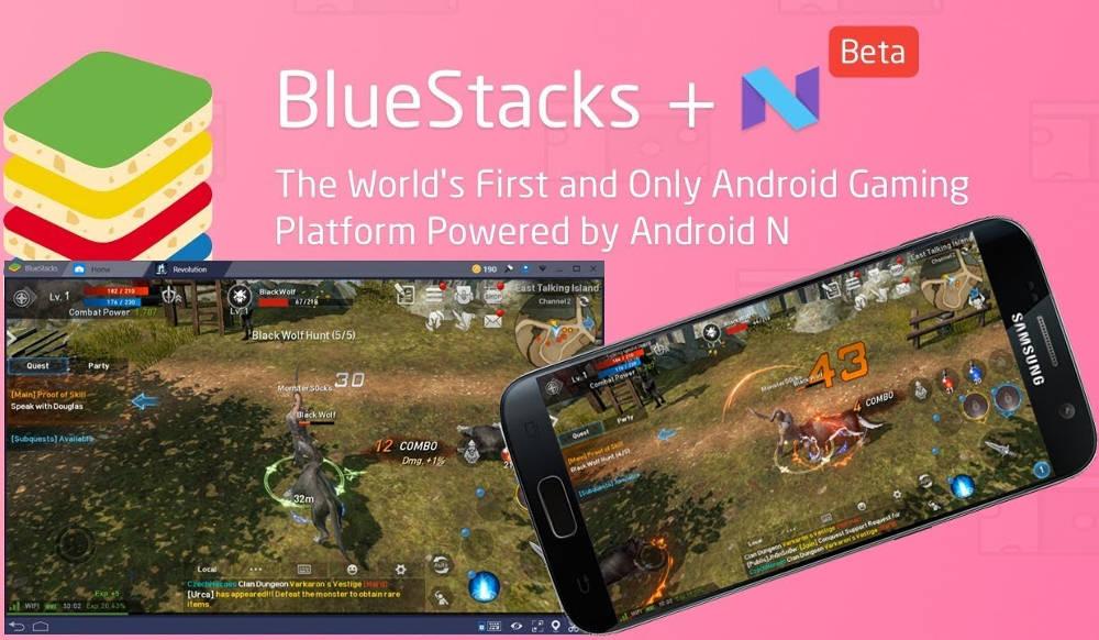Иллюстрация на тему Эмулятор Андроид BlueStacks N: новые возможности для запуска игр