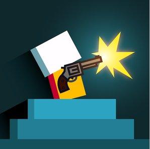 Иконка для Простая и увлекательная стрелялка Mr Gun, скачать на Андроид