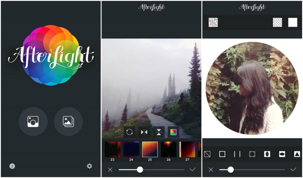 Иллюстрация на тему Фоторедактор AfterLight для мобильных устройств, скачать на Андроид