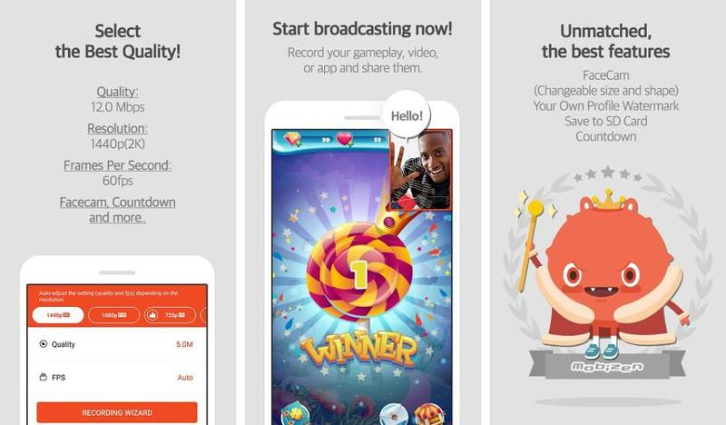 Иллюстрация на тему Программа для записи экрана Mobizen - Мобизен скачать на Андроид