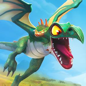 Иконка Hungry Dragon для Андроид: накорми голодного др...