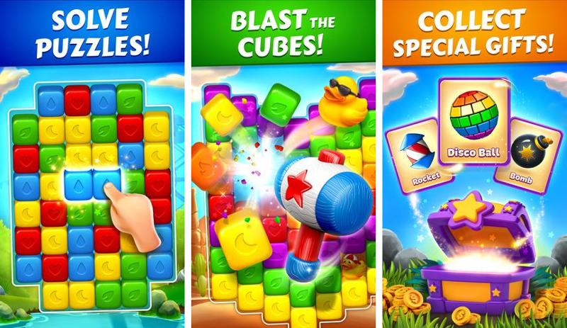 Иллюстрация на тему Toon Blast скачать на Андроид: секреты игры, бесконечные жизни