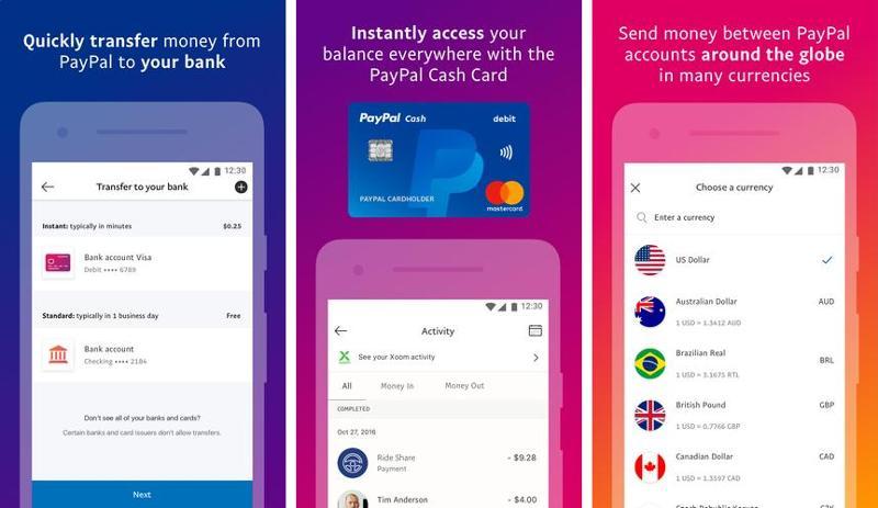 Иллюстрация на тему Скачать Paypal для Андроид - описание клиента платёжной системы