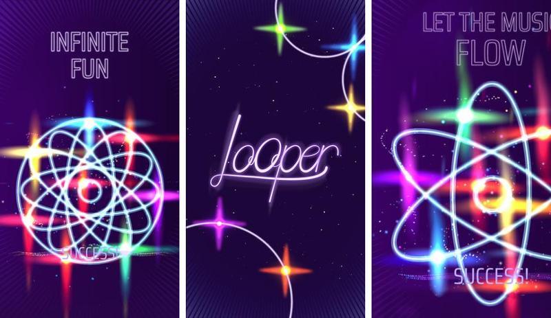 Иллюстрация на тему Зажигательная музыкальная игра Looper, скачать на Андроид