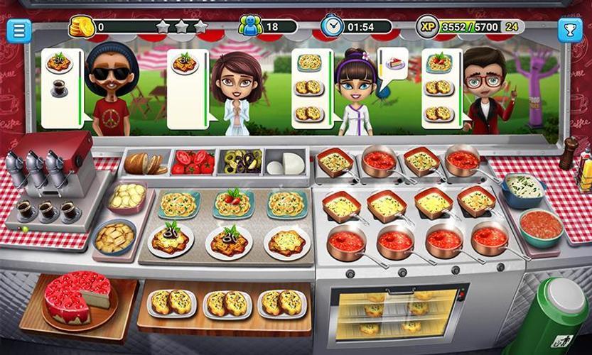 Иллюстрация на тему Кухонная Лихорадка (Cooking Fever): скачать игру на Андроид