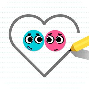 Иконка Love Balls на Андроид: помогите шарикам соедини...