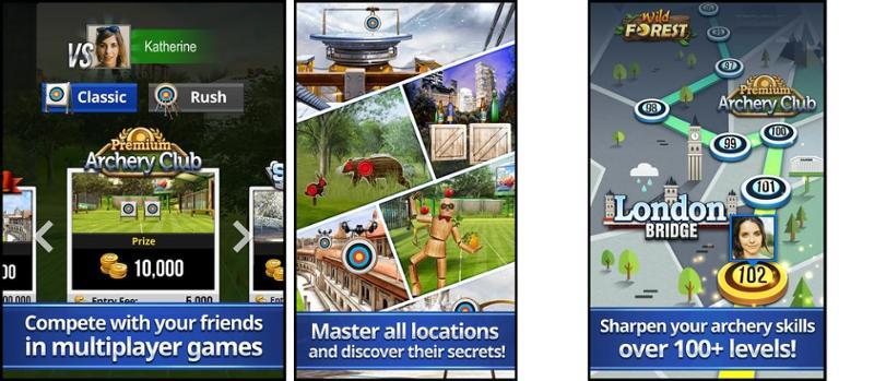 Иллюстрация на тему Скачать Archery King на Андроид - симулятор стрельбы из лука