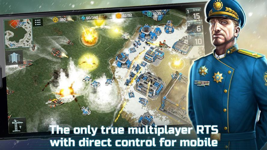 Иллюстрация на тему Art of War 3 Global Conflict скачать на Андроид бесплатно