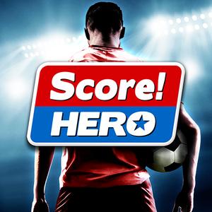 Иконка Симулятор футбольной команды Score Hero для Анд...