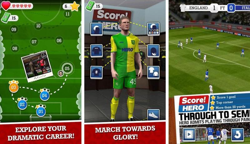 Иллюстрация на тему Score Hero скачать на Андроид: прохождение Скор Хиро