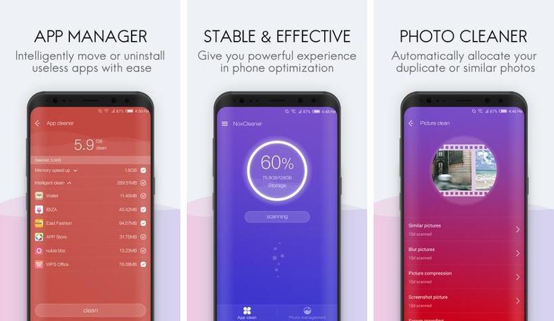 Иллюстрация на тему Nox Cleaner скачать на Андроид: приложение Нокс Клинер для очистки