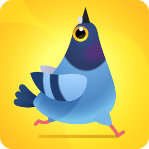 Иконка Описание игры Pigeon Pop - кормим голодного голубя