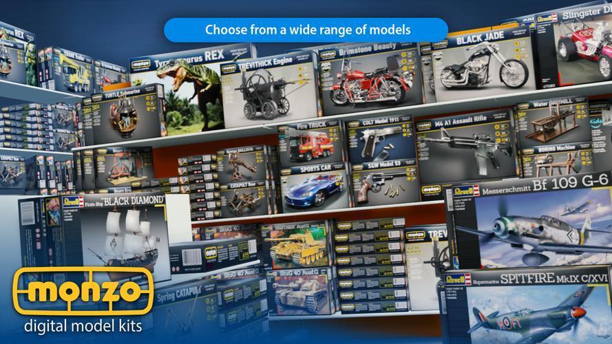 Иллюстрация на тему Скачать MONZO на Андроид со всеми моделями бесплатно: все открыто
