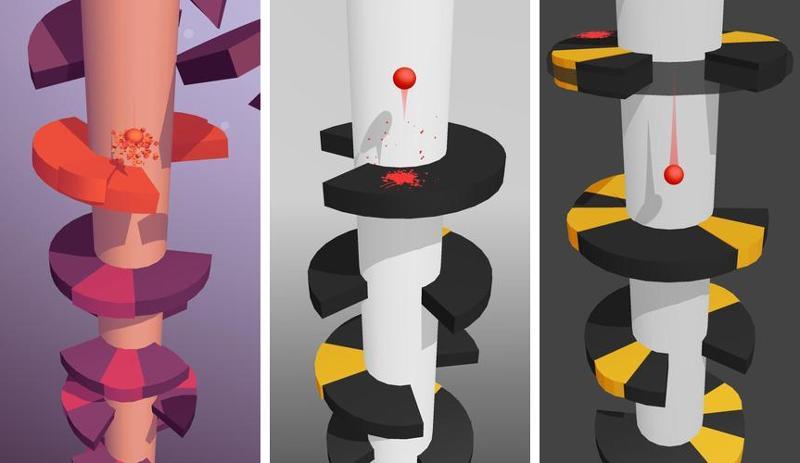 Иллюстрация на тему Helix Jump скачать на Андроид: сколько уровней в игре, рекорды