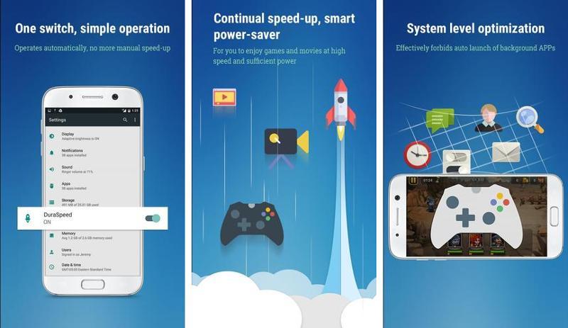 Иллюстрация на тему DuraSpeed на Андроиде: что это за программа для ускорения работы