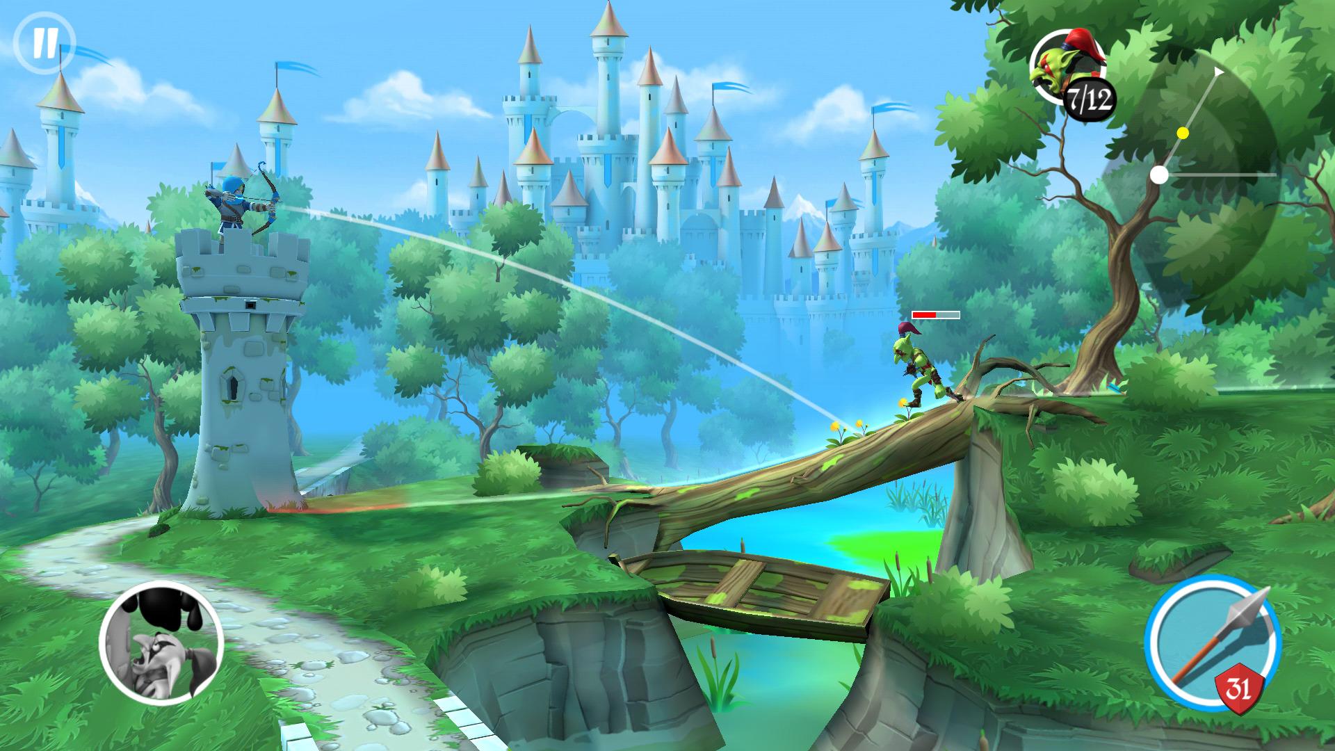 Иллюстрация на тему Tiny Archers: скачать игру на Андроид бесплатно и без кодов