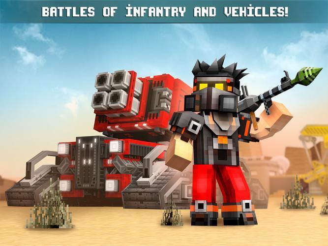 Иллюстрация на тему Blocky Cars (блоки карс): скачать игру бесплатно