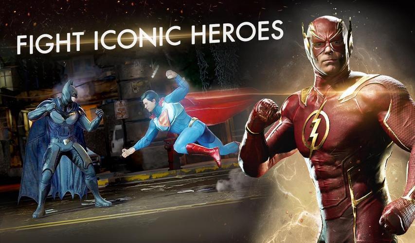 Иллюстрация на тему Injustice 2 на Андроид скачать: системные требования игры