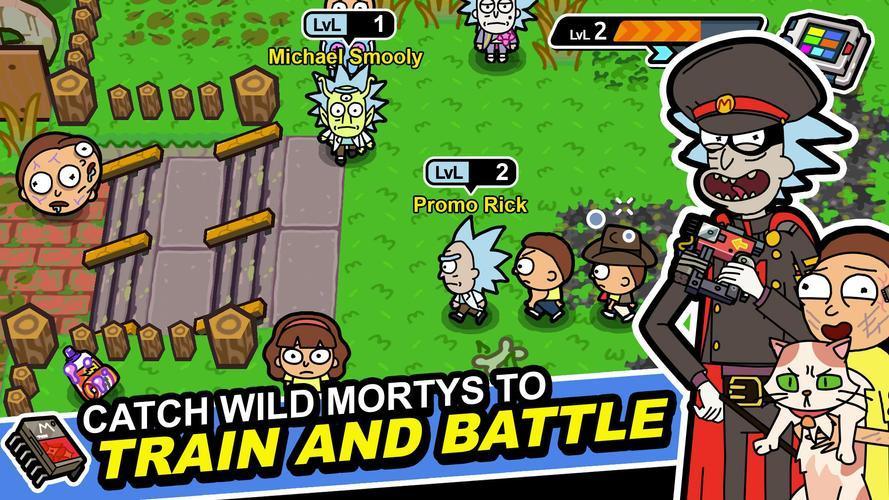 Иллюстрация на тему Pocket Mortys: как скачать и прохождение квестов и заданий