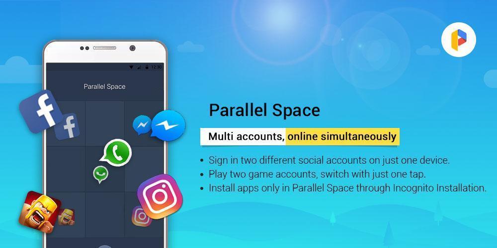 Иллюстрация на тему Parallel Space скачать приложение для Андроид apk