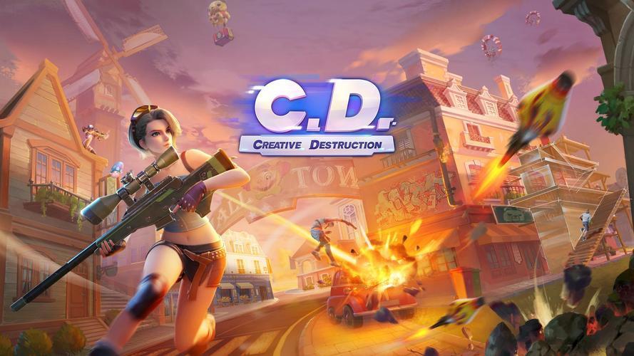 Иллюстрация на тему Скачать Creative Destruction игру на Андроид бесплатно (apk файл)