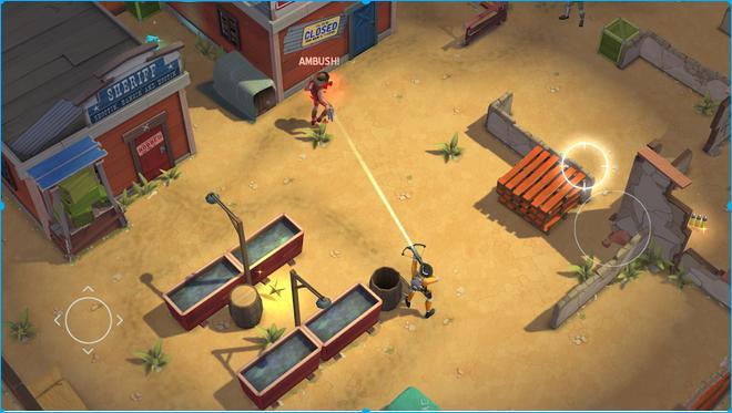 Иллюстрация на тему Space Marshals скачать игру на Андроид бесплатно apk