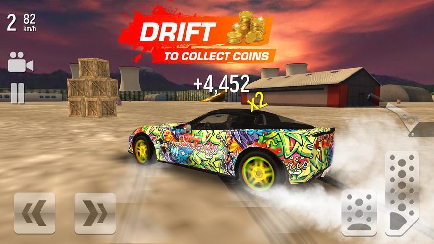 Иллюстрация на тему Дрифт Макс Сити скачать игру бесплатно на Андроид