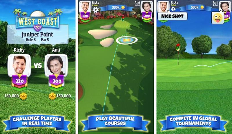 Иллюстрация на тему Golf Clash by playdemic скачать игру на Андроид бесплатно apk: секреты