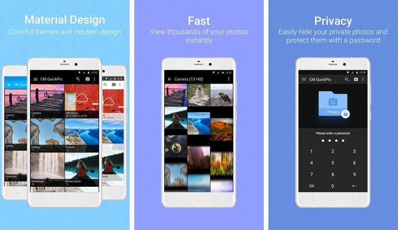 Иллюстрация на тему Галерея QuickPic скачать на Андроид бесплатно apk