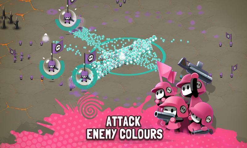 Иллюстрация на тему Tactile Wars скачать игру на Андроид бесплатно apk
