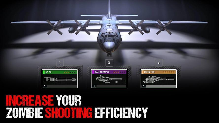 Иллюстрация на тему Zombie Gunship Survival скачать на Андроид бесплатно