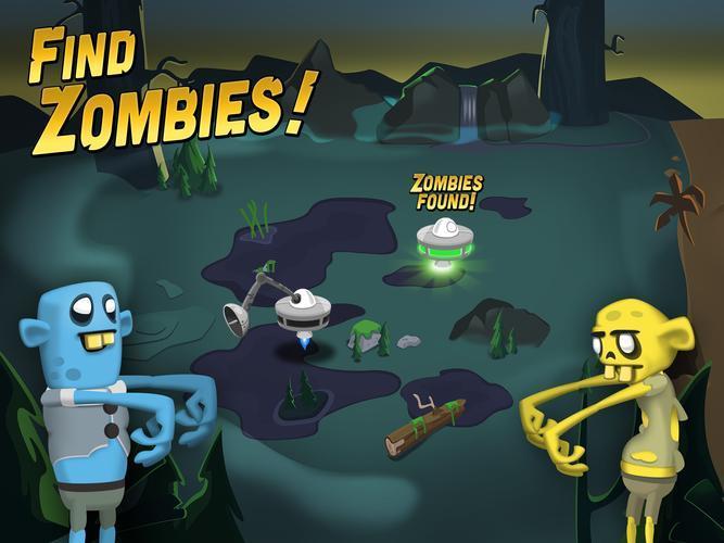 Иллюстрация на тему Zombie Catchers скачать игру на Андроид бесплатно