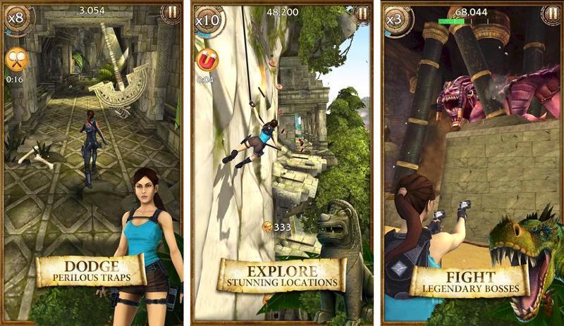 Иллюстрация на тему Lara Croft Relic Run скачать на Андроид бесплатно apk