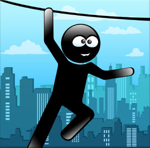 Иконка для Stickman Rope Hero скачать игру на Андроид бесплатно apk