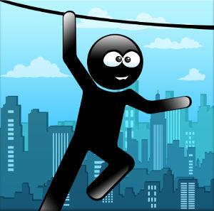 Иконка Stickman Rope Hero скачать на Android бесплатно