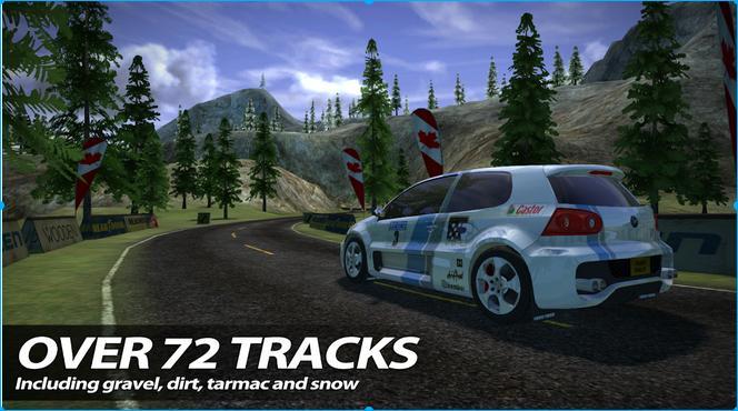Иллюстрация на тему Rush Rally 2: скачать игру на телефон с системой Андроид бесплатно