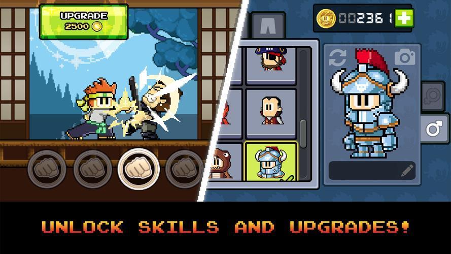 Иллюстрация на тему Скачать Dan The Man игра на Андроид бесплатно: прохождение игры