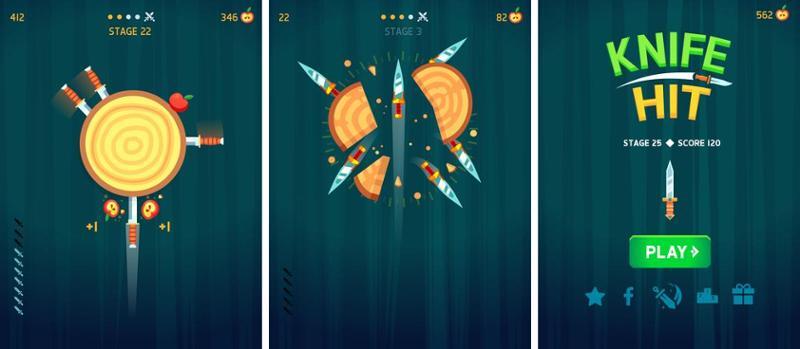 Иллюстрация на тему Knife Hit: скачать игру на Андроид последняя версия