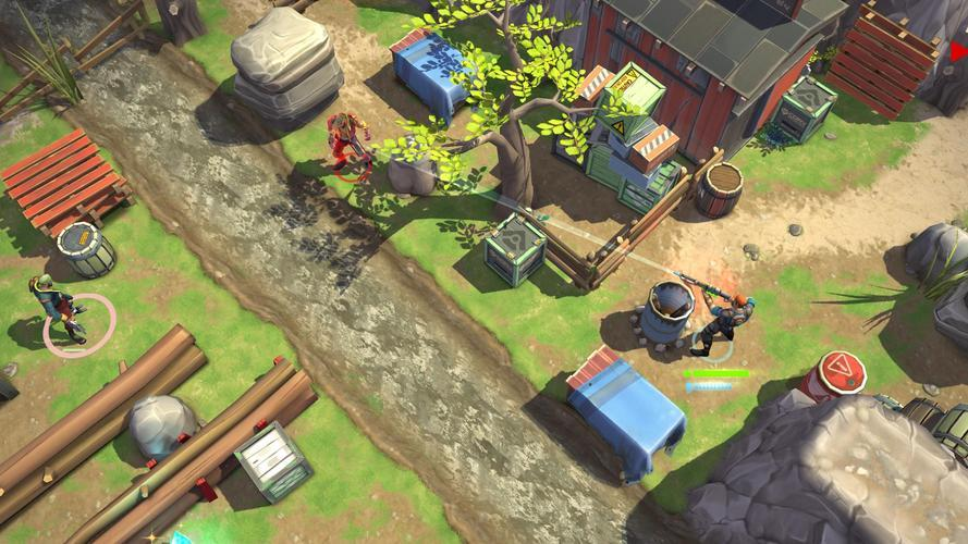 Иллюстрация на тему Space Marshals 2 премиум скачать игру на Андроид полная версия