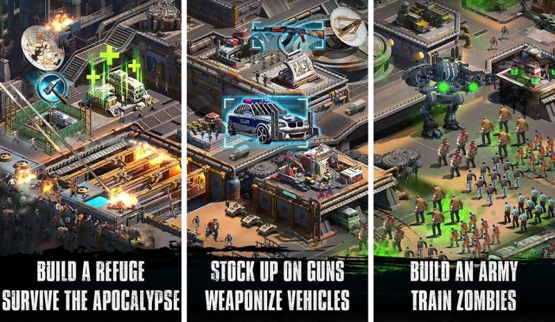 Иллюстрация на тему Скачать игры про зомби на Андроид: стрелялки, стретегии, пиксельные