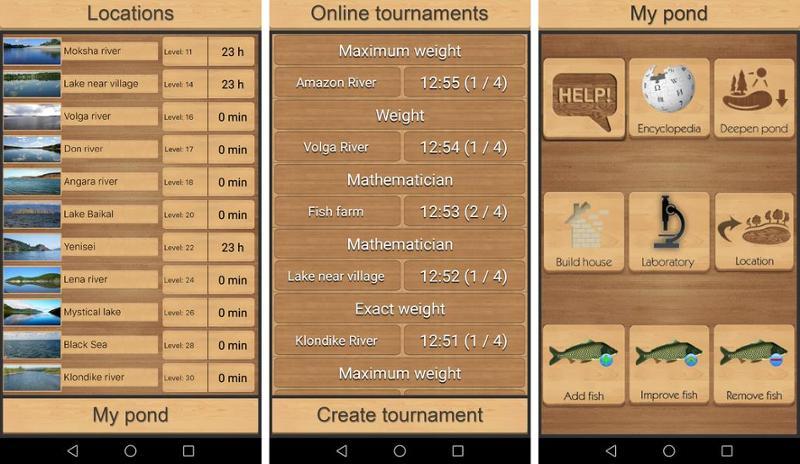 Иллюстрация на тему Скачать игру Реальная Рыбалка на Андроид (полная версия)