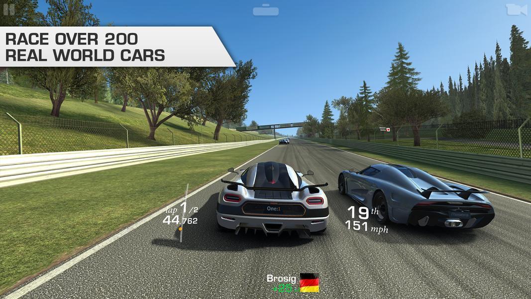 Иллюстрация на тему Список лучших гонок: скачать на Андроид-телефон или планшет