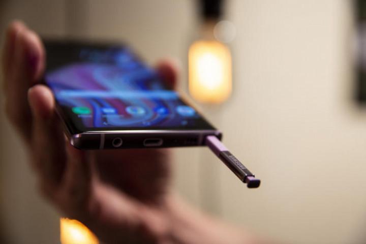 стилус на смартфоне samsung galaxy