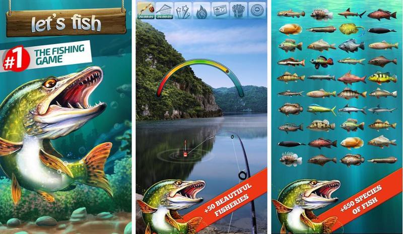 Иллюстрация на тему Скачать лучшие игры про рыбалку на телефоны Андроид