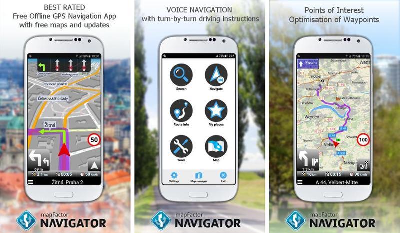 Иллюстрация на тему Скачать навигатор бесплатно на телефоны Андроид (на русском языке)