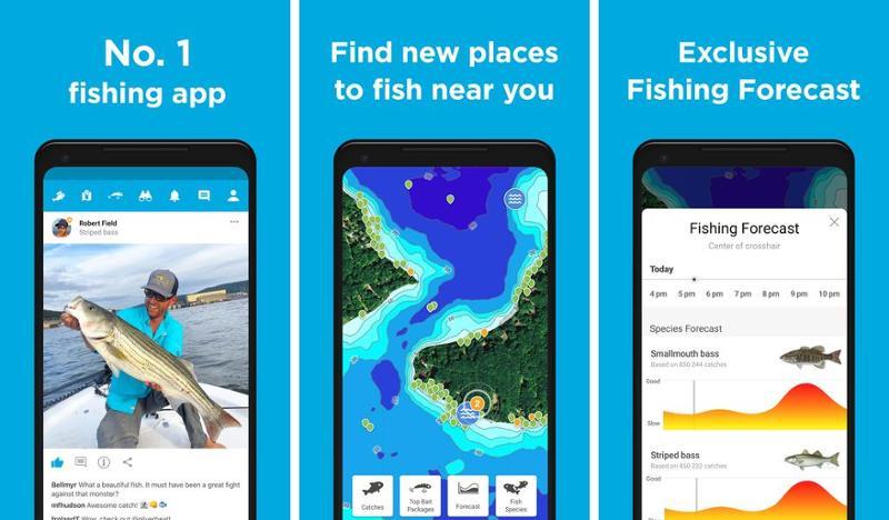 Иллюстрация на тему Рыболовные навигаторы для Андроида: скачать бесплатно
